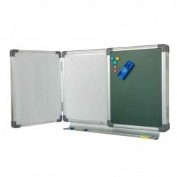وایت برد مغناطیسی سه لنگه لولایی 100×400
